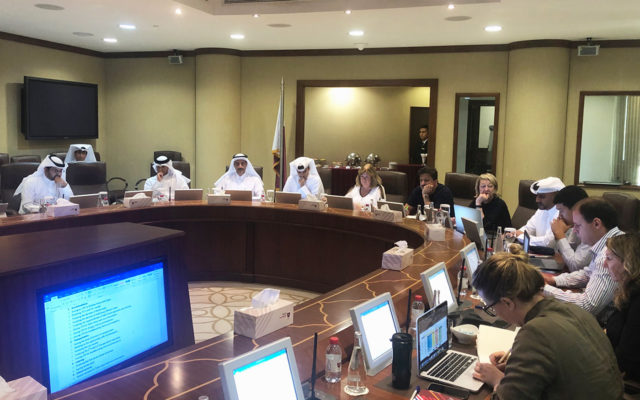 ANOC World Beach Games preparation visit held in Doha