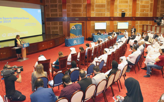 ANOC World Beach Games team sports official draw takes place in Doha