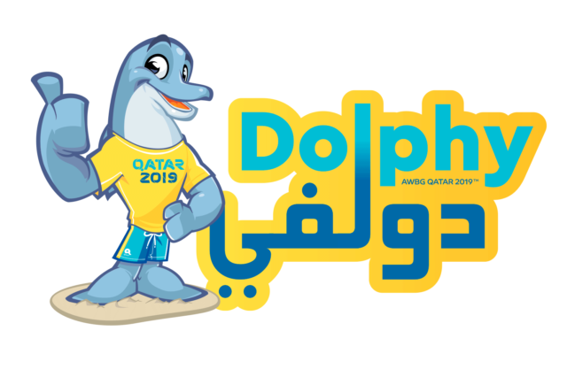 ANOC World Beach Games Qatar 2019 unveil Dolphy the Mascot