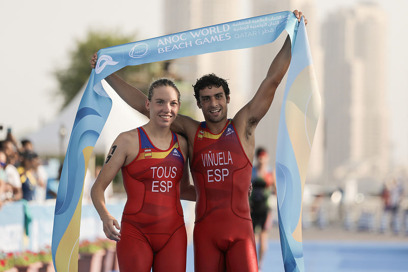 Aquathlon Mixed Team Relay - Final: Spain