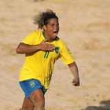 Women's Beach Soccer Preliminary Group A: Brazil vs Mexico
