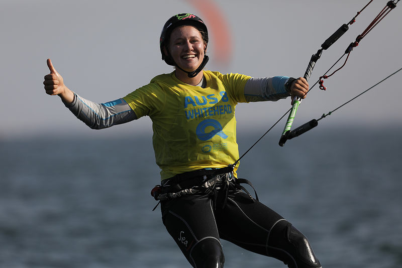Women's Kitefoil Racing Semifinals: