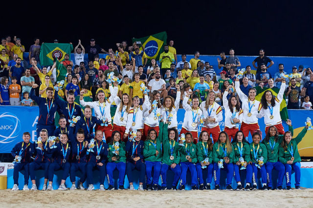 World No 1, World Champions, ANOC World Beach Games Champions: Brazil Dominates Again